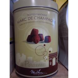 Truffes fantaisie Marc de Champagne