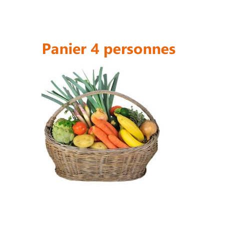 PANIER FRUITS ET LÉGUMES - 4 PERSONNES