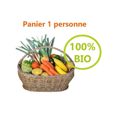PANIER 100% BIO - 1 PERSONNE