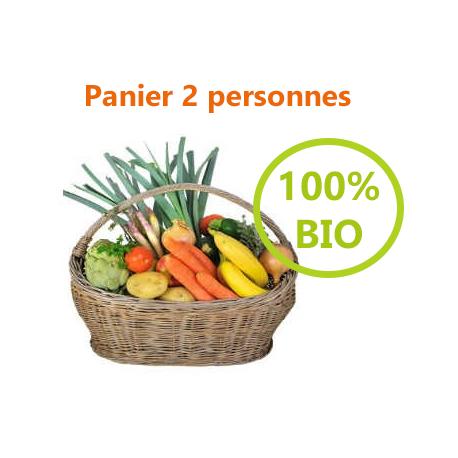 PANIER 100% BIO - 2 PERSONNES