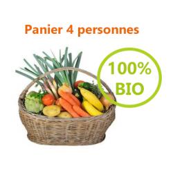 PANIER 100% BIO - 4 PERSONNES