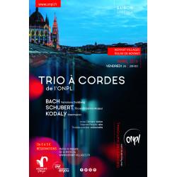 Concert trio à cordes ONPL - Tarif réduit