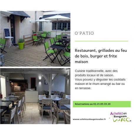 O' Patio - Restaurant à Baugé en Anjou