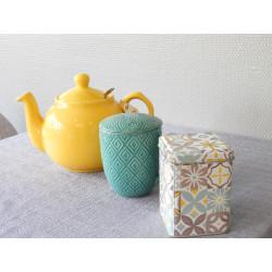 Tasse, Théière, Mug, Porte-clés, Licorne, boîte à thés...