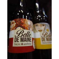 """Bière Bio ambrée """"Belle de Maine"""""""
