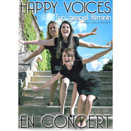 "Concert du trio gospel féminin ""Happy Voices"" - TARIF PLEIN"