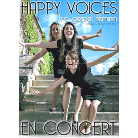 "Concert du trio gospel féminin ""Happy Voices"" - TARIF REDUIT"