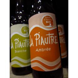 """Bière d´Anjou BIO ambrée """"La Piautre"""" 33 cl"""