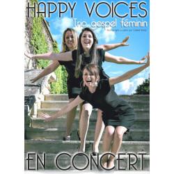 """Concert du trio gospel féminin """"Happy Voices"""" / GRATUIT - de 12 ans"""
