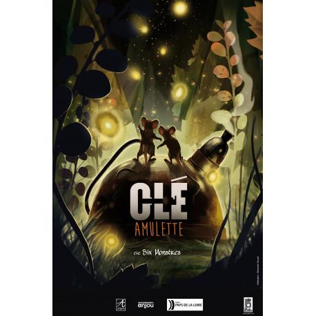 Clé Amulette Cie Six Monstres
