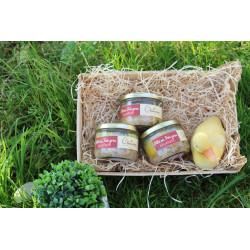 Pâté au foie gras 33% à la pistache