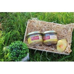 Pâté au foie gras 33% aux noisettes