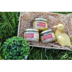 Pâté au foie gras 33% au poivre vert