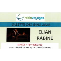GALETTE DES ROIS 2020 - ELIAN RABINE