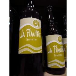 """Bière Bio blanche """"La Piautre"""" 75cl"""