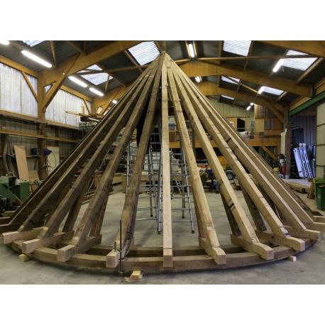 Restauration charpente