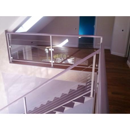Escalier Inox Et Verre Achetez En Baugeois Vallee